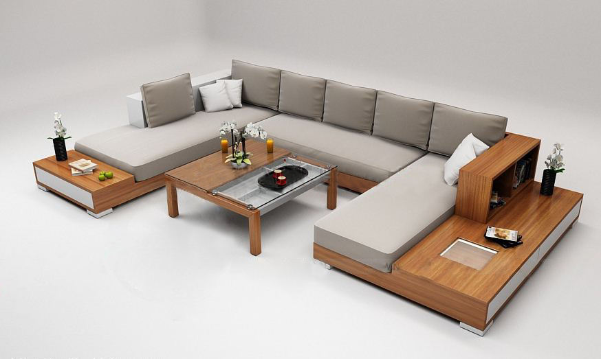 sofa go cao cap go01