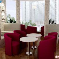 sofa tan a chau cafe 3
