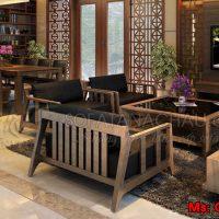sofa gỗ GO18-1