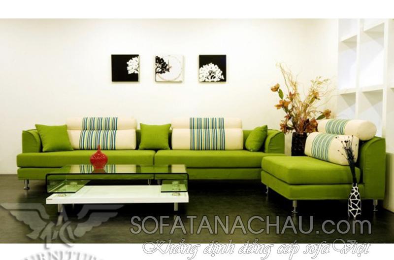 Sofa Goc mau xanh