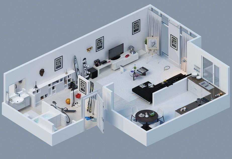 việc nắm rõ kích thước phòng khách giúp bạn chủ động trong việc chọn lựa nội thất